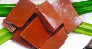 Dodol agar agar coklat