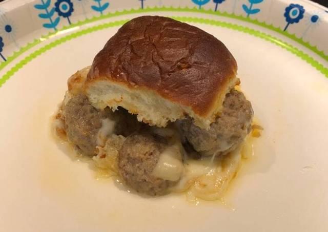 Meatball Sliders 🍔