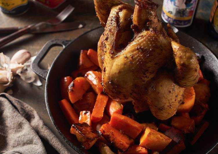 Flambo鑄鐵鍋料理 發表的 鑄鐵鍋坦都里烤雞 食譜 - Cookpad