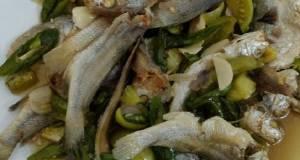 Oseng Ikan Asin Lombok Ijo