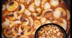 Restuarant Style Matar Mushroom