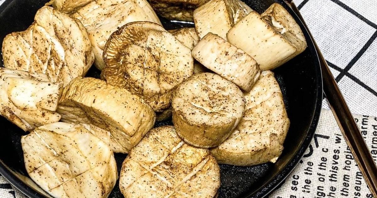 挑嘴小食堂 發表的 氣炸杏鮑菇(口爆的滋味,By比依氣炸鍋) 食譜 - Cookpad
