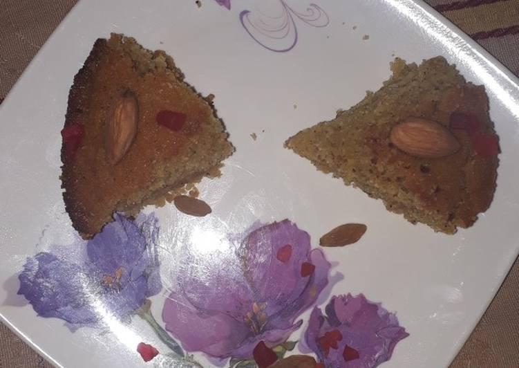 Semolina cooker cake