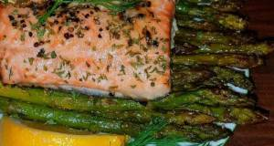 Mike's 30 Minute Complete Salmon Dinner