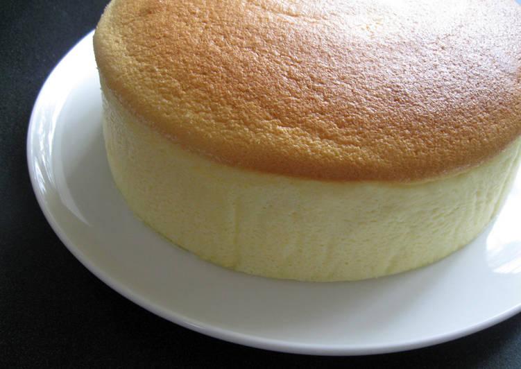 Japanese Soufflé Cheesecake