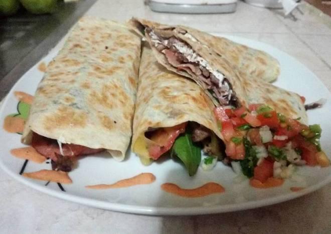 Burritos de asada
