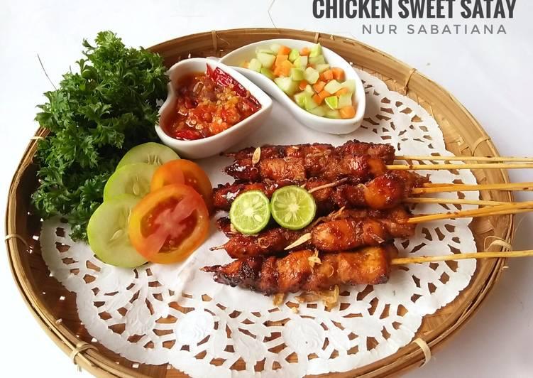 Chicken Sweet Satay