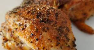Crispy Baked Chicken Thighs
