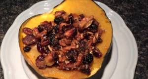 Nutty Stuffed Acorn Squash