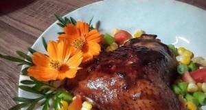 Apple Cider Vinegar Glazed Chicken Breast ala Violet Azalea