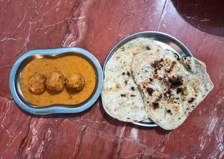 Malai kofta with gravy