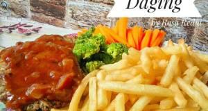 Bestik Daging/ Beef Patty