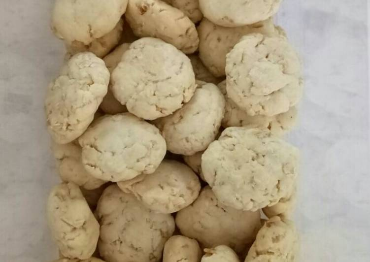 Oat Cookies *Vegetarian