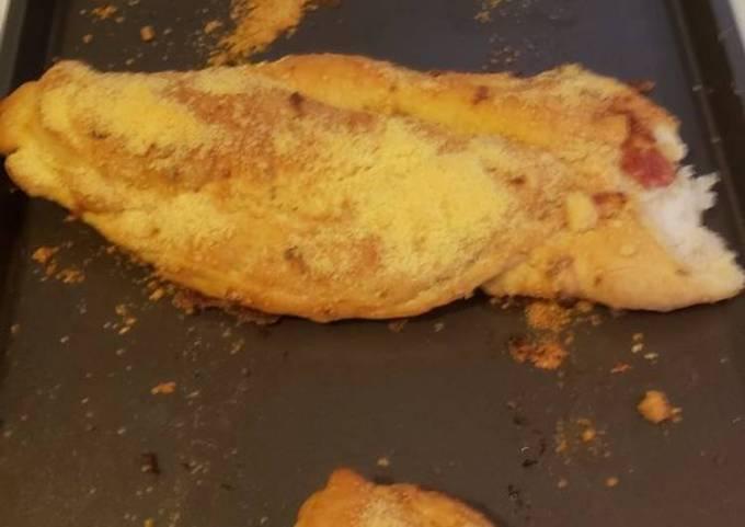 Garlic bread pizza braid