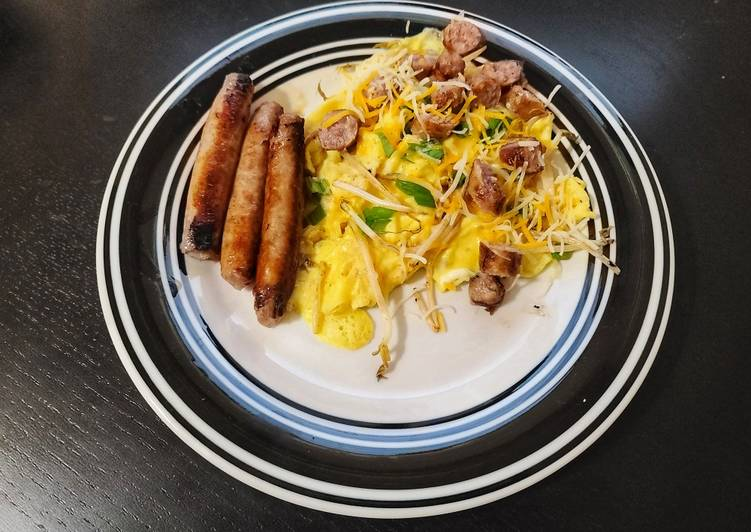 Cantonese Scrambled Eggs