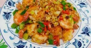 Udang Cabai Garam - Clean Eating Version