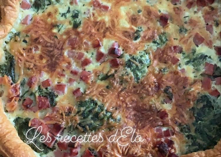 Quiche épinard /jambon