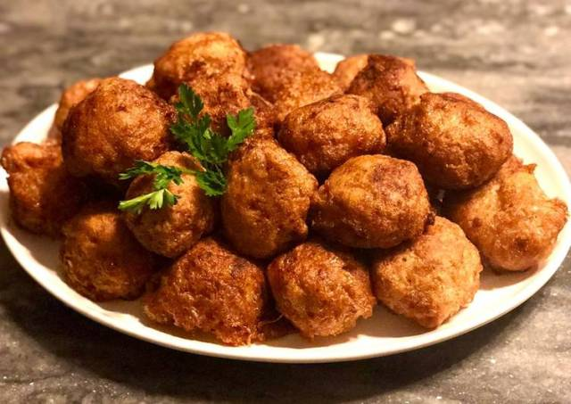 Chicken-parmesan balls