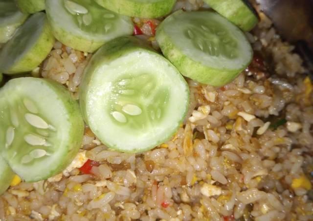 Nasi goreng huhah 😂