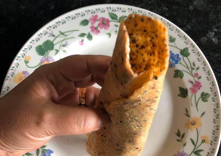 Split lentil bread keto