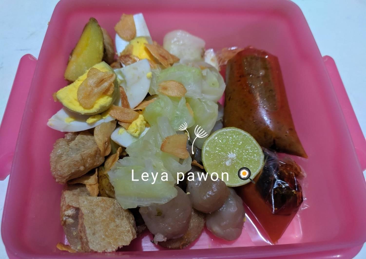 Resep Siomay Aci Bumbu Kacang Sederhana Remas Nu