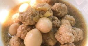 Semur bola daging