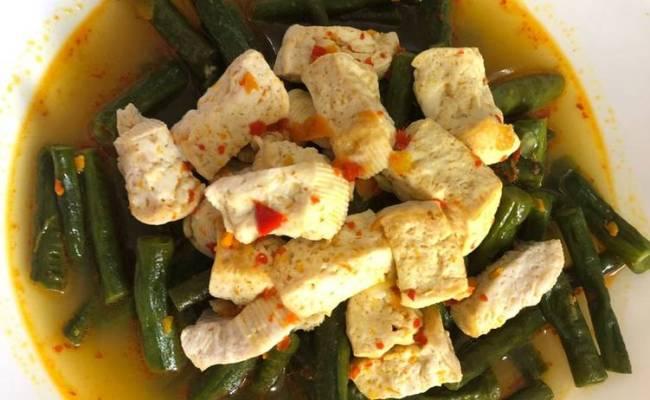 Resep Sayur Kuning Kacang Panjang Tahu Kuning Oleh Cute766