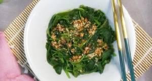 176. Salad Bayam (Sigeumchi Namul)