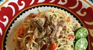 Spicy Tuna Aglio Olio
