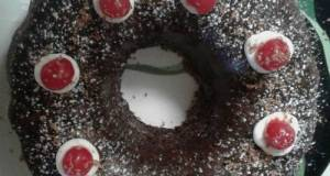 Devil's Food Cherry Bundt Cake