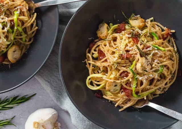 Healthy Spaghetti Carbonara