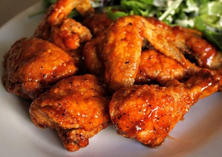 Buffalo BBQ Fried Chicken (or Chicken Wings)