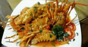 Lobster saus Asam Manis