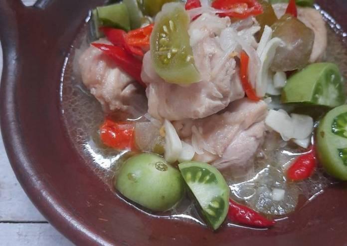 Bagaimana Cara Membuat Rahasia Garang Asem Ayam Tanpa Santan Aneka Resep Nusantara