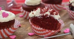 Kek Cawan RED VELVET