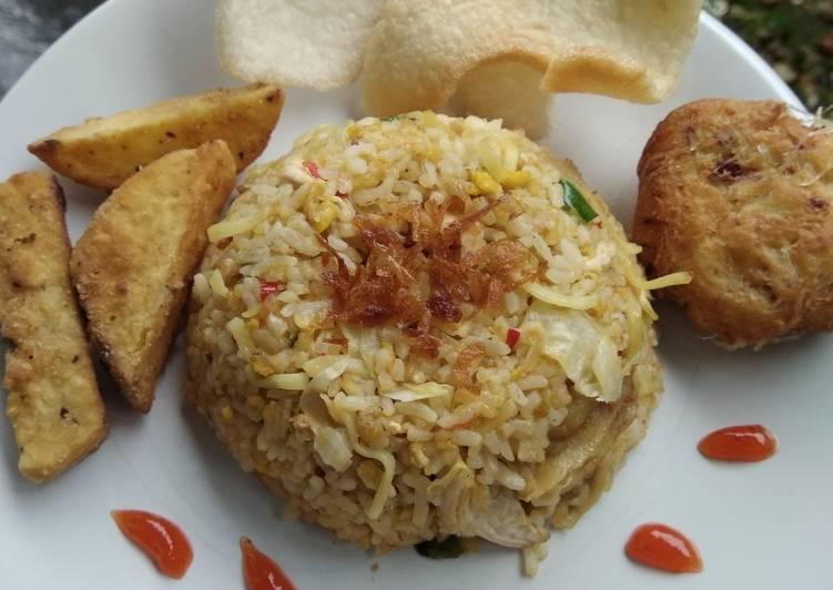 Nasi Goreng Magelangan Sederhana