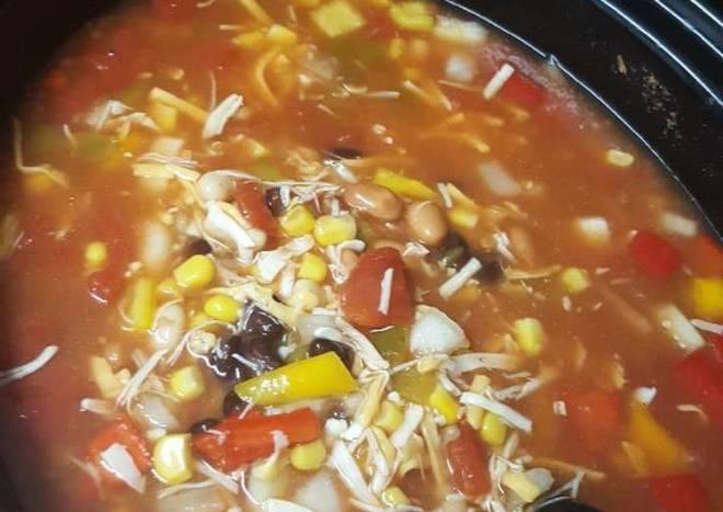 Tori's Crockpot Enchilada Soup