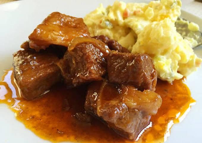 BBQ Sauce Braised Pork Shoulder