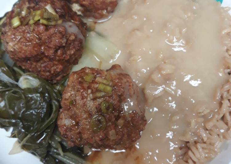 , Recipe: Tasty Chinese Lionhead Meatballs