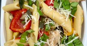 Grilled Summer Veggie Pasta With Chicken