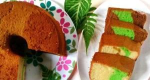 Chiffon Cake 3 Rasa Part 2