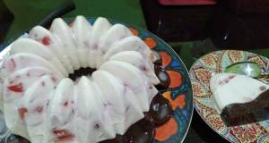 Silky Strawberry n Pudding Coklat