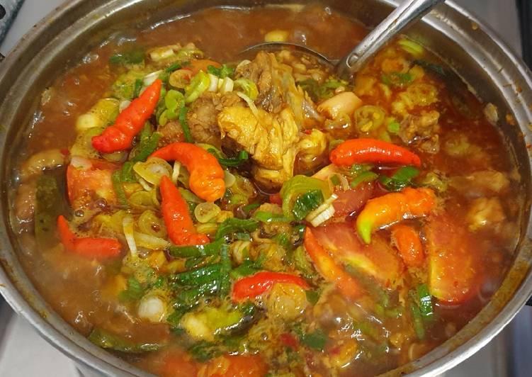 Ayam Rica-Rica Kuah Pedas