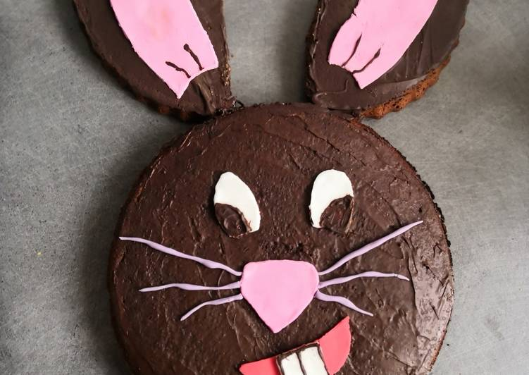 Gâteau au chocolat, lapin