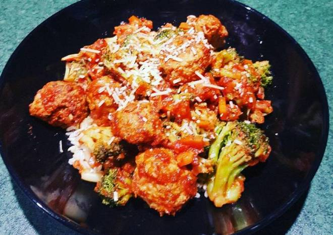 Healthy Low Fat Turkey Meatballs