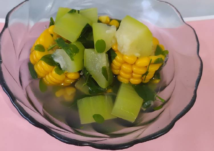 Sayur Bening Kelor Labu Air