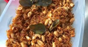 Sambel Teri kacang
