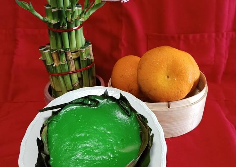 Kue Keranjang Coco Pandan