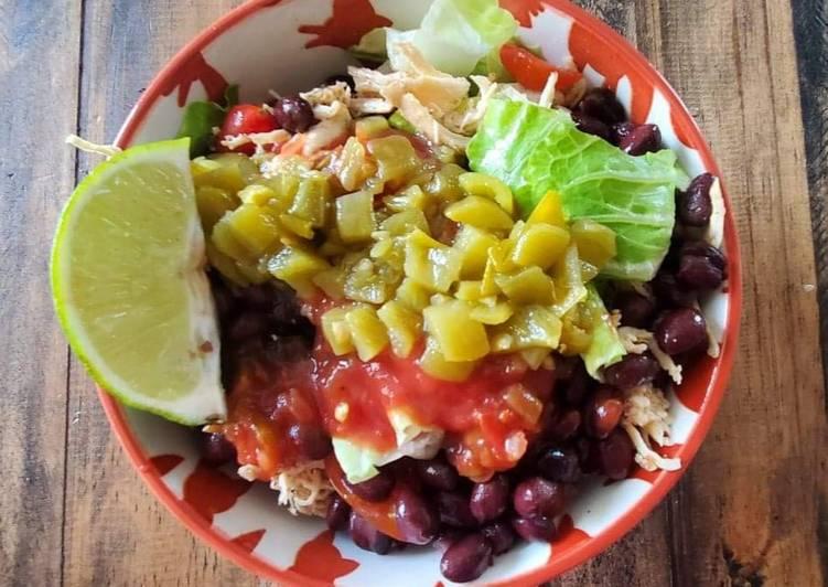 Mexi Chicken Salad Bowl
