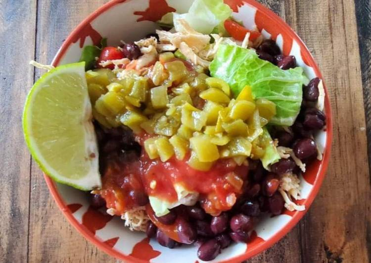 Mexi Chicken Salad Bowl